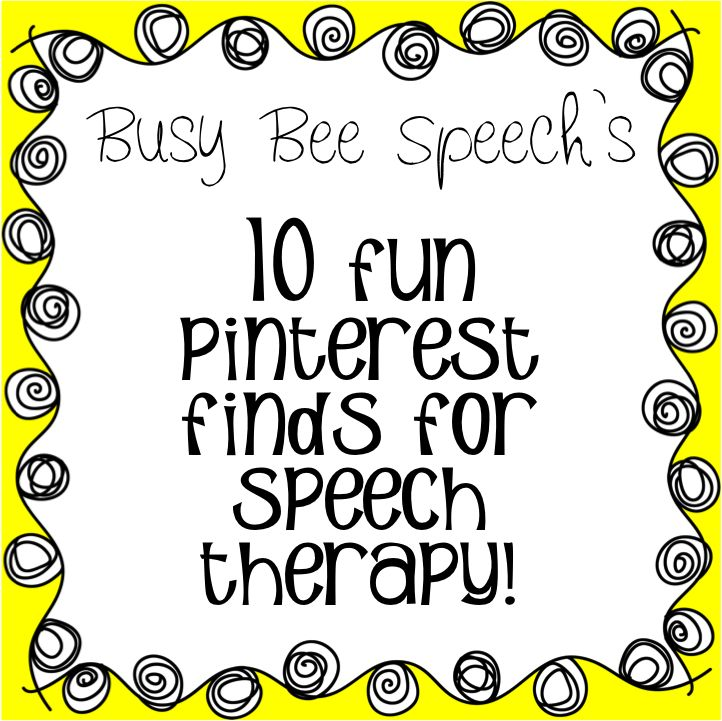 This website compiles 10 crafts or games that can a SLP can use during therapy. These are all low tech and creative ways to keep the students engaged.