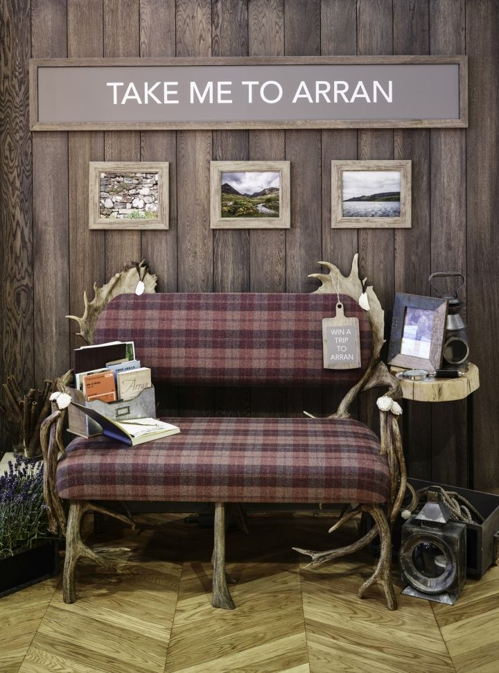 Arran Aromatics Pop-up Store de Gran Brink, Edimburgo - Reino Unido »Retail Design Blog