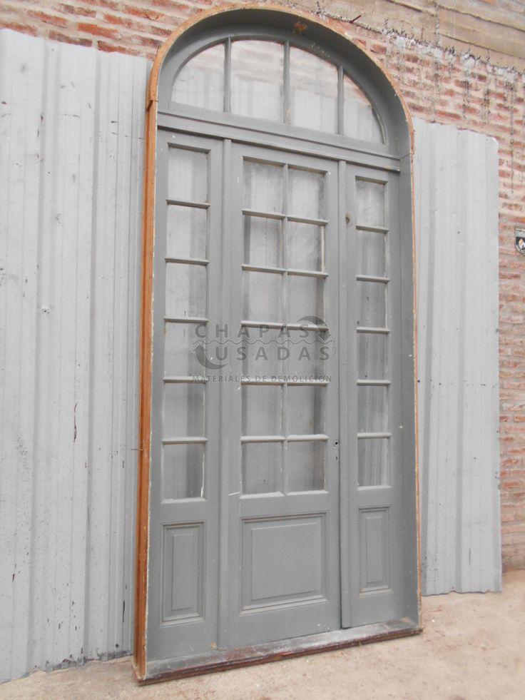 Las 25 mejores ideas sobre antiguas puertas de madera en for Puerta casa antigua