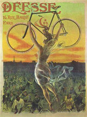 Vintage Bicycle Poster                                                                                                                                                      More