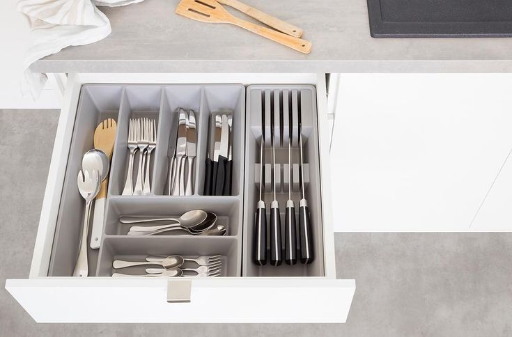 Looking For A Little More Storage And Organisation In Your Kitchen? Our  Kaboodle Cutlery And