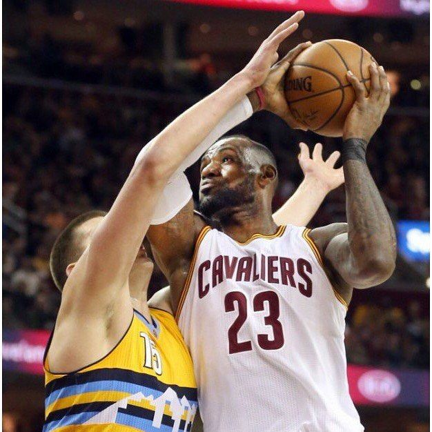 King James has passed Brad Daugherty (5227) for 2nd-most rebounds in Cavs history. #dhtk #repre23nt #donthatetheking