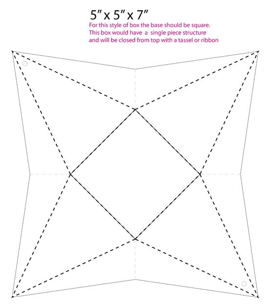 211 best images about gifts on pinterest free printable for Triangle packaging template