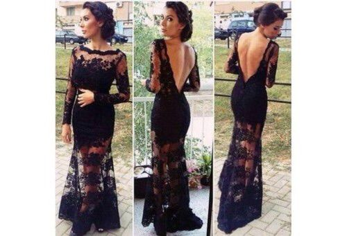 Image via We Heart It https://weheartit.com/entry/155145731 #black #clothing #cocktail #cute #dress #fashion #formal #sexy #2015 #trenes #outdita