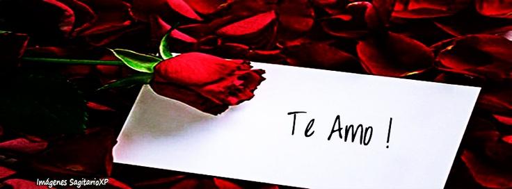 Te amo, Rosa y Carta | Portada para facebook