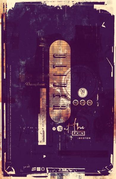 Vaughn Oliver Poster