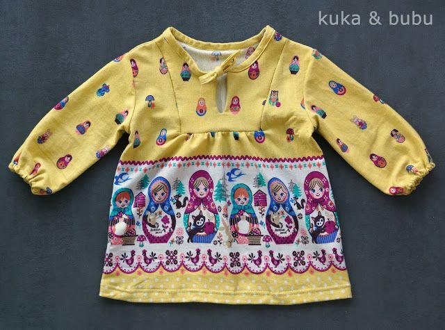 Ottobre 1/2016 #5 (56-92) Pocahontas jersey top - Ruski Edition