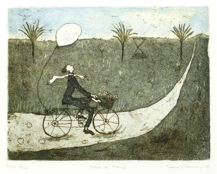 Emmi Vuorinen: Tour de France