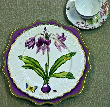 527 best images about china and ceramics on pinterest - Decoracion de platos ...