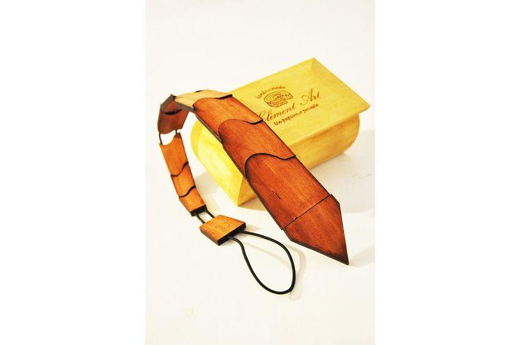 Cravata din lemn Vincenzo