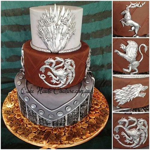 Pics Quiz Cake Art Mon : Geek Art Gallery: Sweets: Game of Thrones Cake Cakes ...