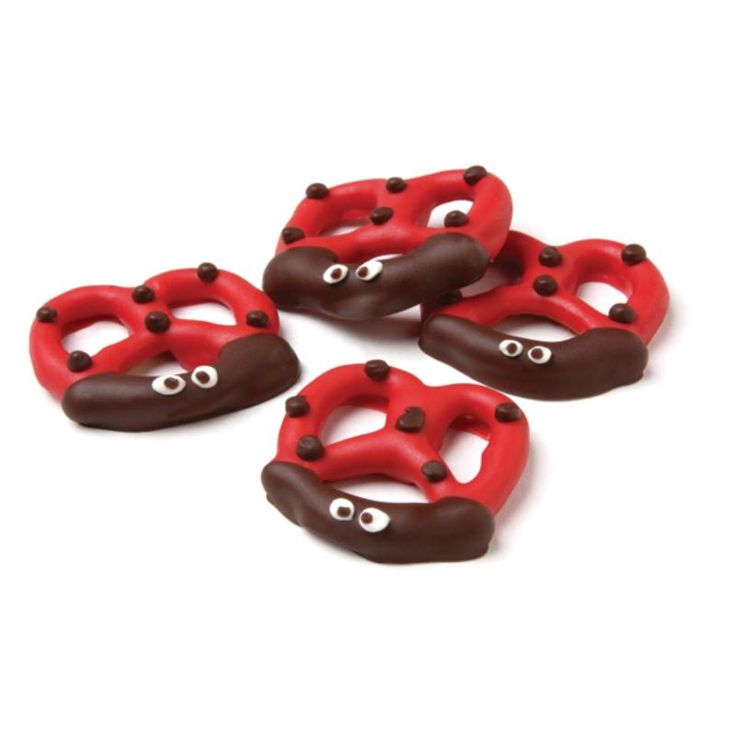 Lady Bug Pretzels