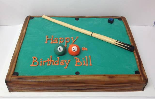 Pool Table Cake                                                                                                                                                                                 More