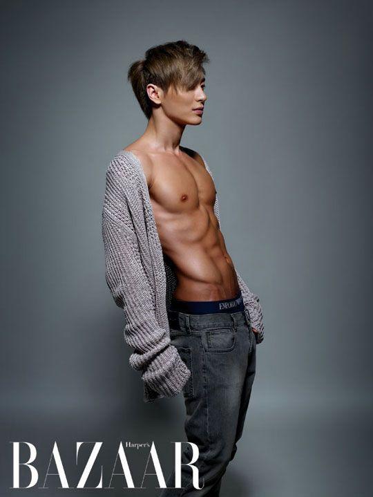 Leeteuk (Super Junior) - Harper's Bazaar Korea, Sept. 2012 issue