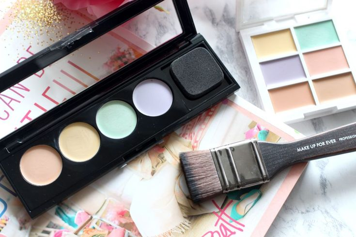 Colour correcting palettes from L'Oreal Paris and NYX Cosmetics