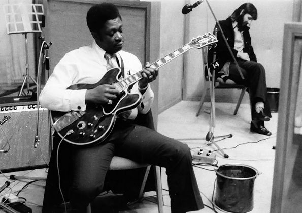 The late B.B. King with Ringo Starr