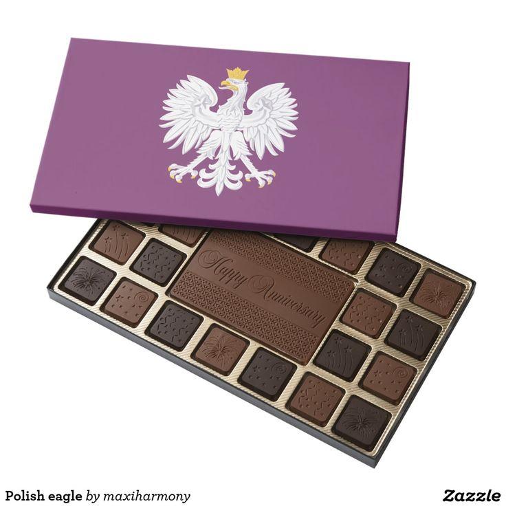 Polish eagle 45 piece assorted chocolate box
