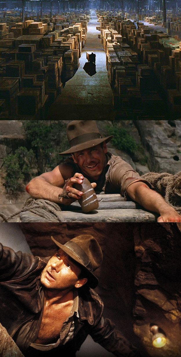 You know that in the end you'll have to let go of some of the most valuable things in life. | 21 Signs You Were Raised On Indiana Jones