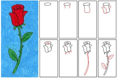 Search | Mom, For kids and Mother's day How To Draw A Rose For Mothers Day