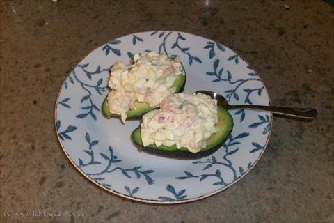 LCHF-Recept: Avokado med räkröra