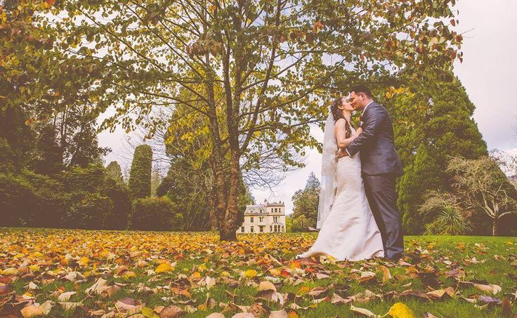 Throwback to this autumnal wedding at Devon venue Holne Park House.