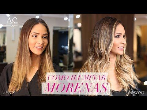 COMO ILUMINAR MORENAS / CORREÇÃO DE COR - YouTube