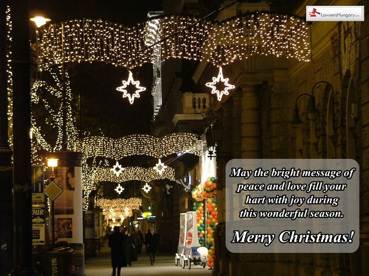 We wish you a Merry Christmas! #christmas #holidayseason #joy #happiness http://www.lawyershungary.com/