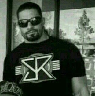 Joe in a Seth Rollins t-shirt...