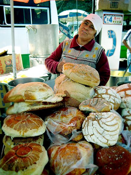 AWESOME! conchas in Mexico