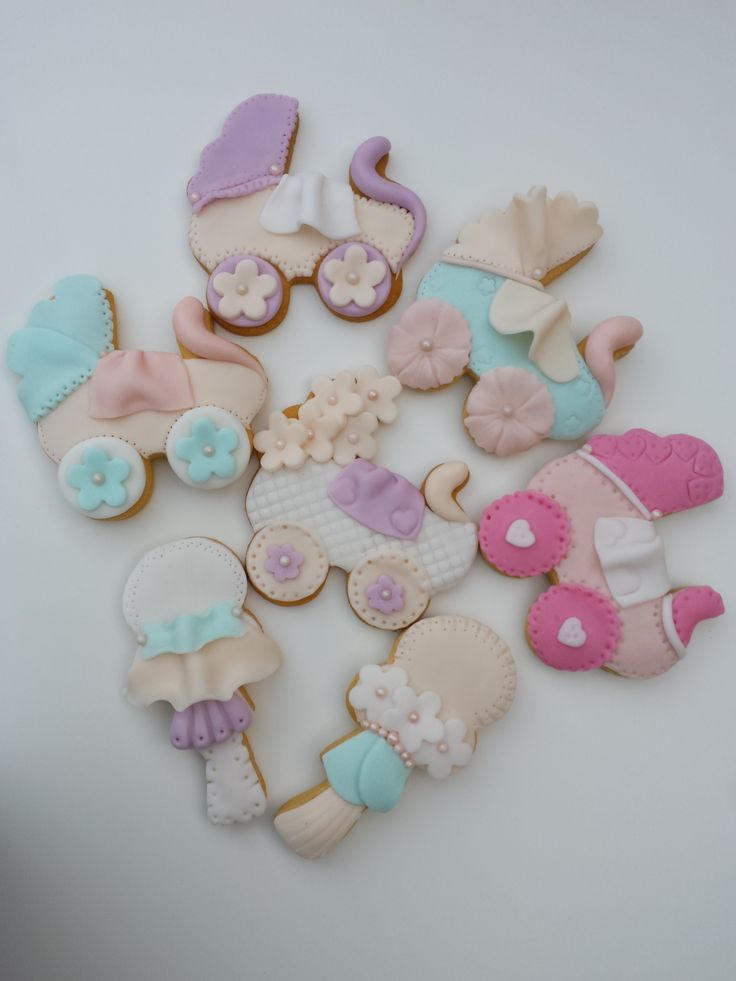 Baby Shower decorated cookies #BakedWithLove Federica Santimaria