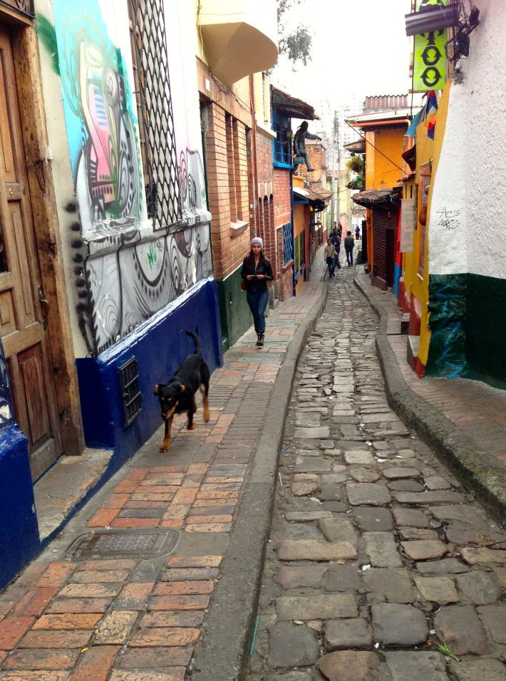 The neighborhood La Candelaria felt more historic than where we stayed in Zona Rosa. Still, we felt like we had to be on guard down here more than in the ritzy north.