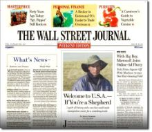 FREE The Wall Street Journal 39 Week Subscription on http://hunt4freebies.com