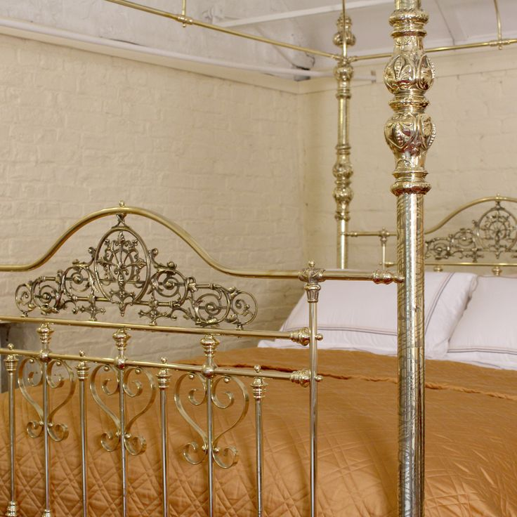 Best 8 Best Brass Beds Images On Pinterest Brass Bed 3 4 640 x 480