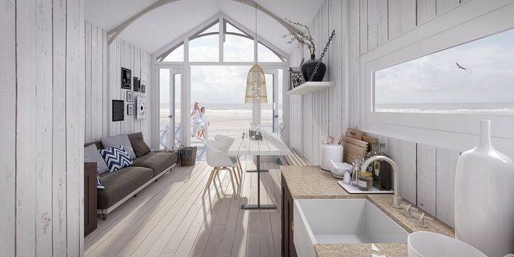 Strandhuisjes - Haagse Strandhuisjes
