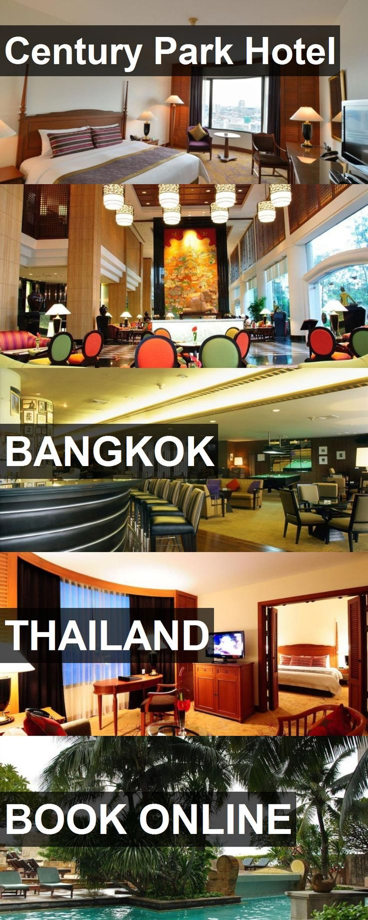 Hotel Century Park Hotel in Bangkok, Thailand. For more information, photos, reviews and best prices please follow the link. #Thailand #Bangkok #CenturyParkHotel #hotel #travel #vacation