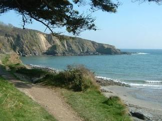 Polridmouth Cove, South Cornwall