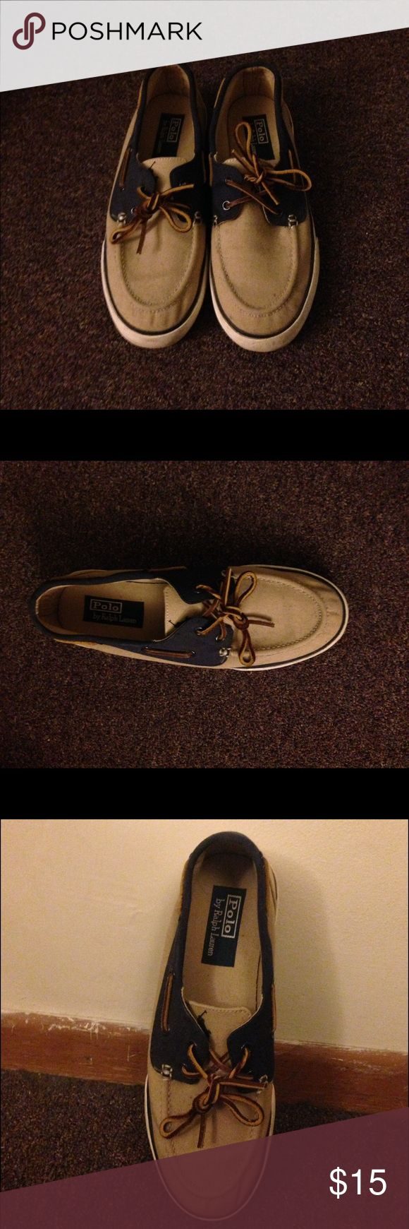 Polo by Ralph Lauren Boat Shoes Barely worn Polo Boat shoes. Great for the summer! Polo by Ralph Lauren Shoes Boat Shoes