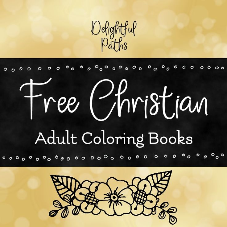 Free Christian adult coloring books to download