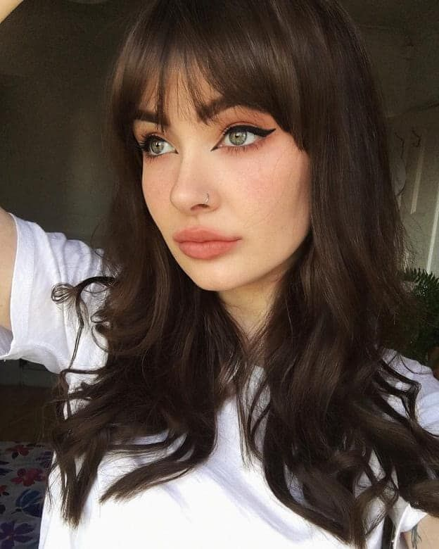 7 Gorgeous Bangs Hairstyles For Women With Thick Hair Thick Hair Styles Hairstyles With Bangs Hair Styles