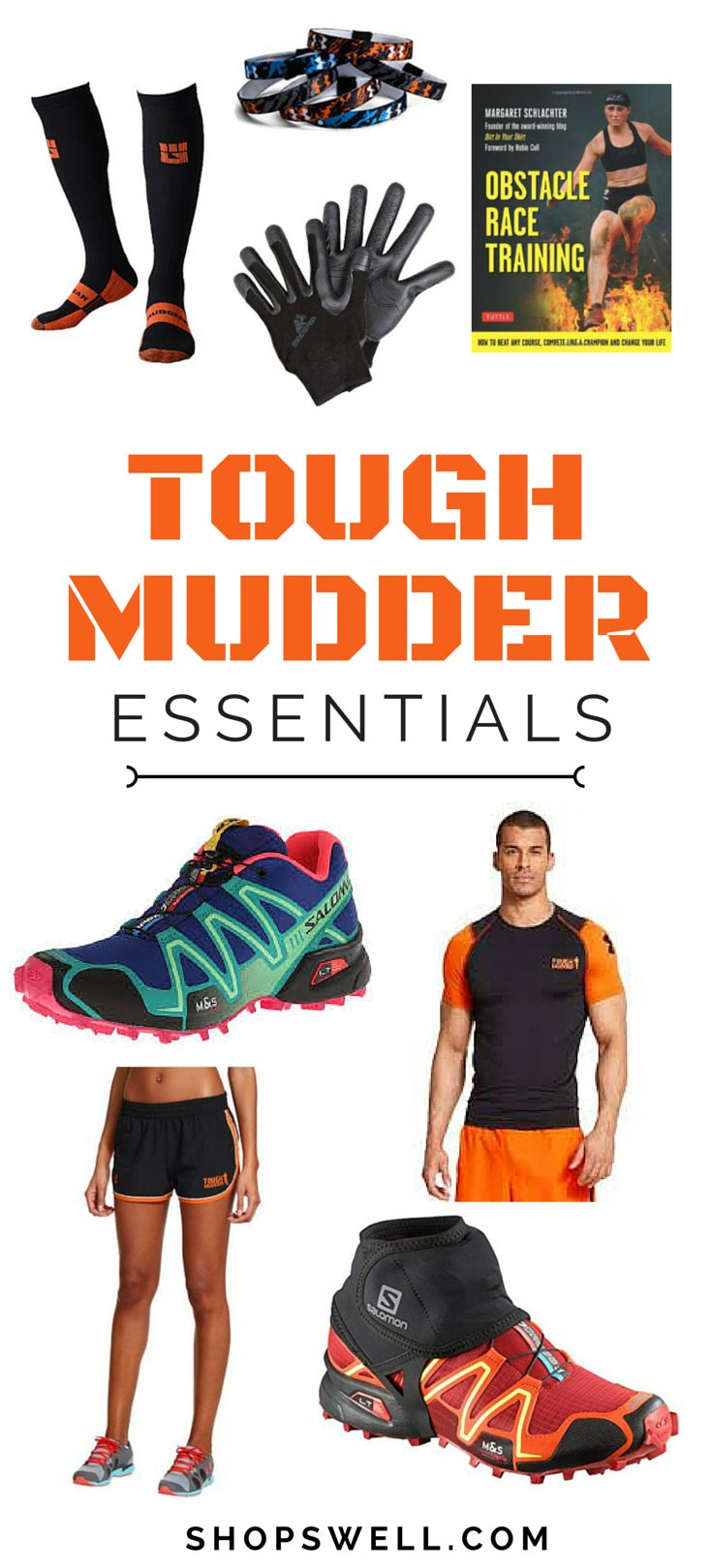 If you like doing obstacle course races or are training for your next Tough Mudder race, here are some items you will need to have a fun and memorable run.