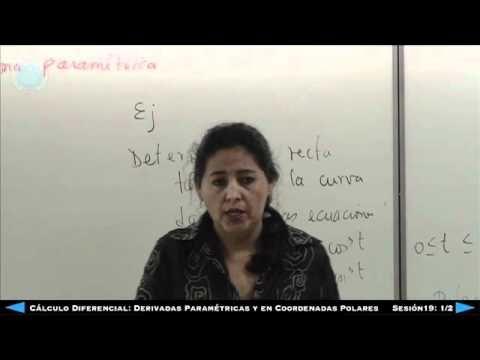 Cálculo Diferencial - Derivadas Paramétrica y En Coordenadas Polares - S...