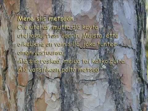 Jokamiehen oikeidet (musavideo 2:59).