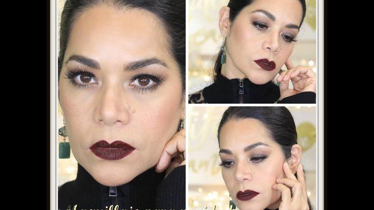 Tutorial Maquillaje para Navidad. Este video cuenta para el sorteo.