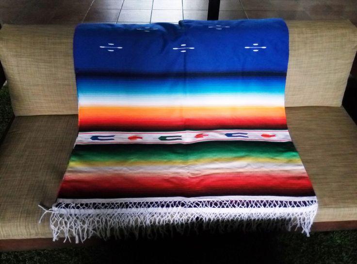 Sarape de Saltillo #jorongo #sarape #mexicandecoration #decoraciónmexicana #artesanal #enviogratis #comprasegura #compraonline #boho #bohohome #mexicanblanket #mantel
