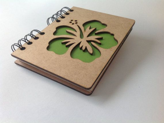 A6 recycled notebook tree. by ADRGB on Etsy