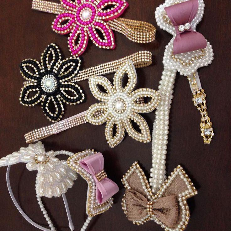 Nova coleção outono/inverno de acessórios muitas pérolas e brilho para essas princesas da Pureza   Ainda hoje em nossa loja virtual!!!