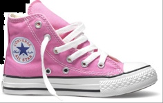 Pink Converse Hi-Top - A Classic, my baby grand daughter wears these ^_^