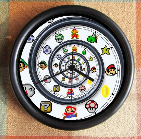 SUPER MARIO BROTHERS Spiral Dali Nautilis by Backstreetcrafts, $24.99