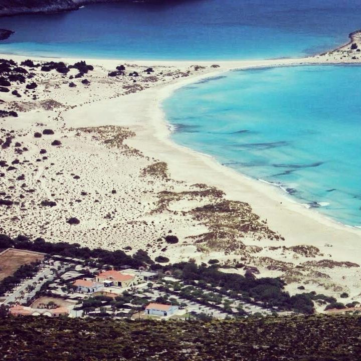 Simos Beach & Simos Camping, Elafonisos Greece