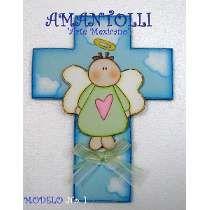 cruz para comunion pintada - Buscar con Google